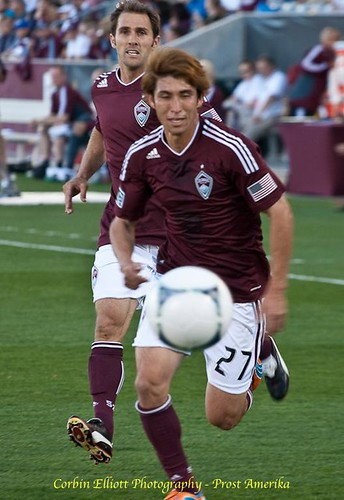 Kosuke Kimura Colorado Rapids 1 Apr 2012 by Corbin Elliott Photography