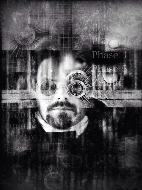 Self Portrait | Industrial Self #iph100 #iphoneography