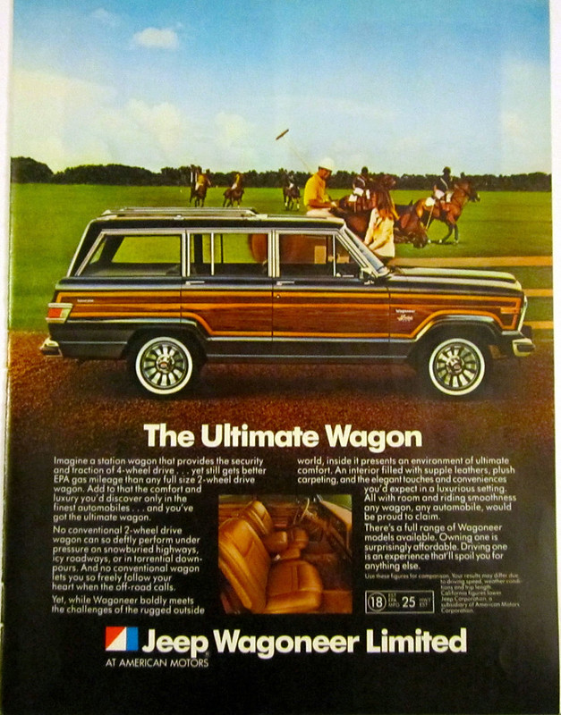 1982 AMC Jeep Wagoneer Limited ad