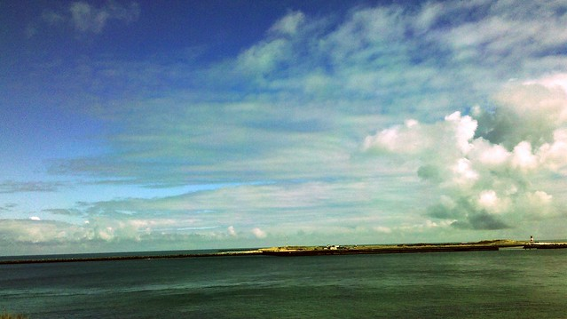 Helgoland im April 2012