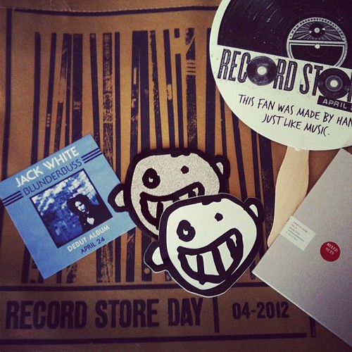 Record Store Day 2012 / Free Stuff