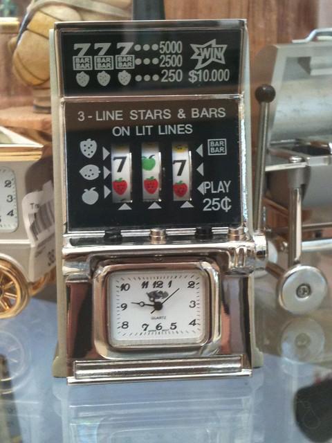 Clock slot