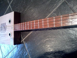 mahogany fret board