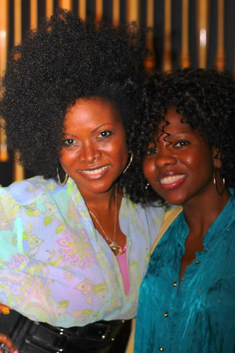 Abiola Abrams and Patrice Williams at Black Enterprise Magazine 40/40 Party