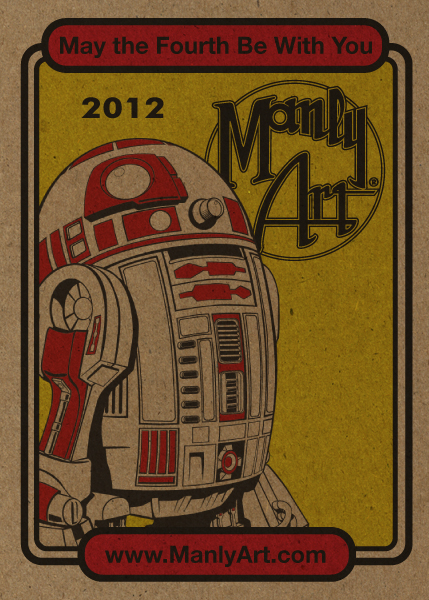 2012 May the 4th Be With You Card Back