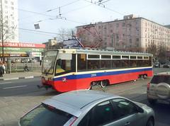 Tramway dans le quartier de Sokolniki