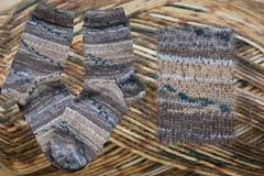 selbstgestrickte Socken Nummer 05/2012