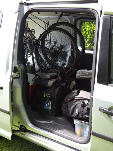 Bike Van Side Door