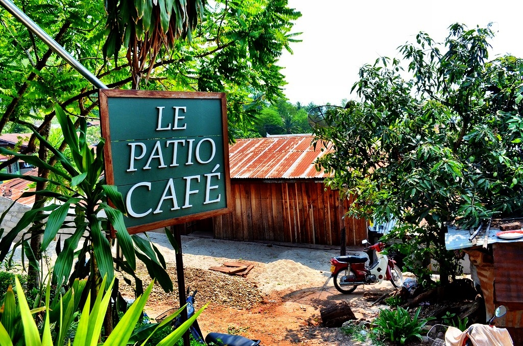 Cafe at the Traditional Arts & Ethnology Centre - Luang Prabang - Laos