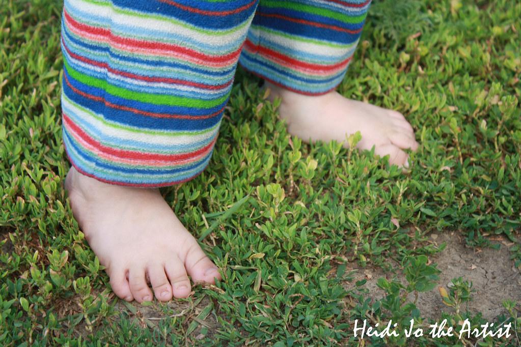 Baby Boy Dashiell's Feet