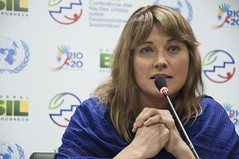 Lucy Lawless (Actress and Activist) at Rio+20