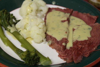 138 - Corned beef with vegetables