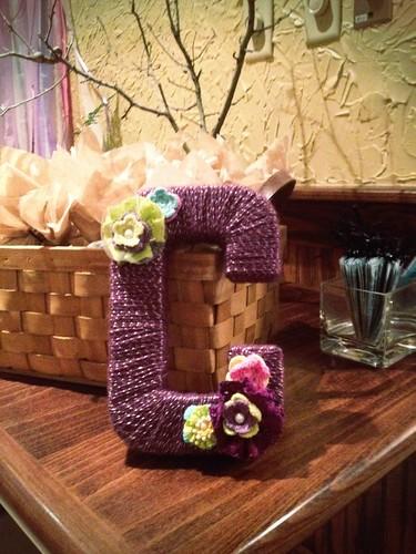 Yarn Wrapped 'C'