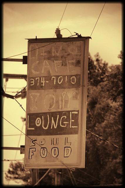Dino Cafe Sign