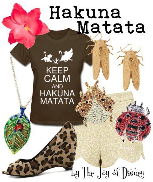 Inspired by: Hakuna Matata