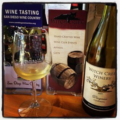 Witch Creek wine tasting in Julian