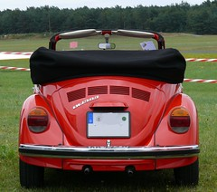 VW Käfer 1303 Cabrio red h