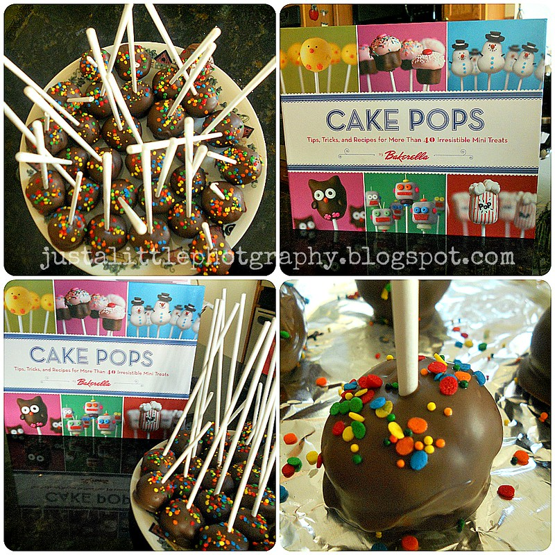 Cake Pops! Collage #4 (finished)
