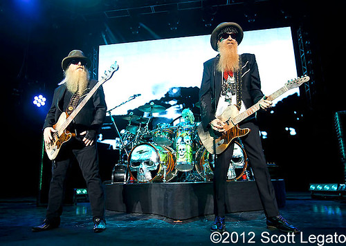 ZZ Top - 06-27-12 - Gang of Outlaws Tour, DTE Energy Music Theatre, Clarkston, MI