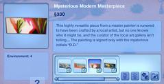 Mysterious Modern Masterpiece 3