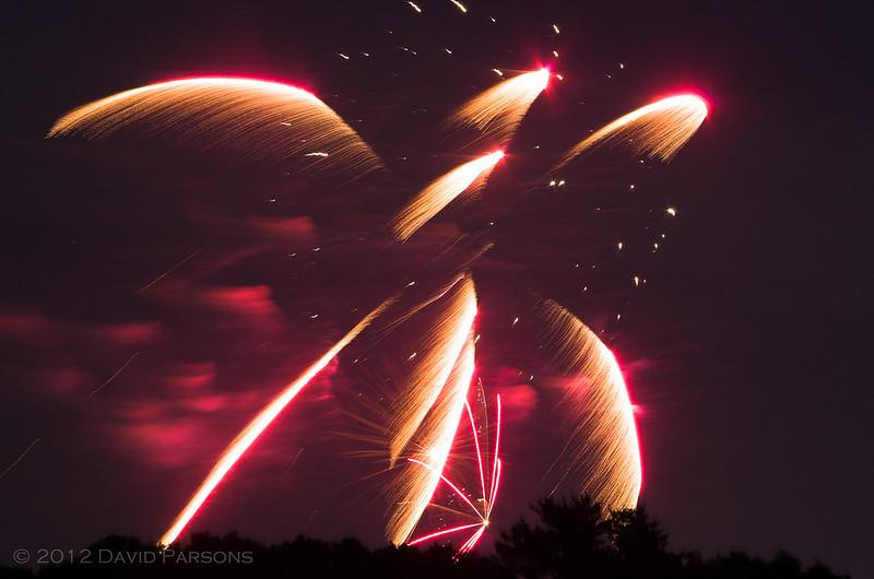 Braintree Fireworks 2012