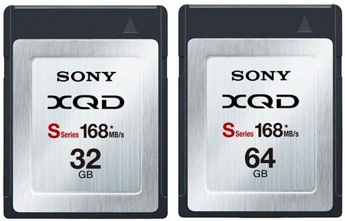 XQD S Series 32-64GB