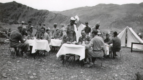 Albert Chalcroft, The King's Regiment , Landi Kotal, Kyber Pass, 1937