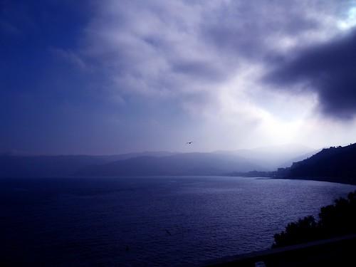 sunset sea sky italy costa clouds coast riviera italia tramonto nuvole mare liguria cielo golfo ligure spotorno ponente