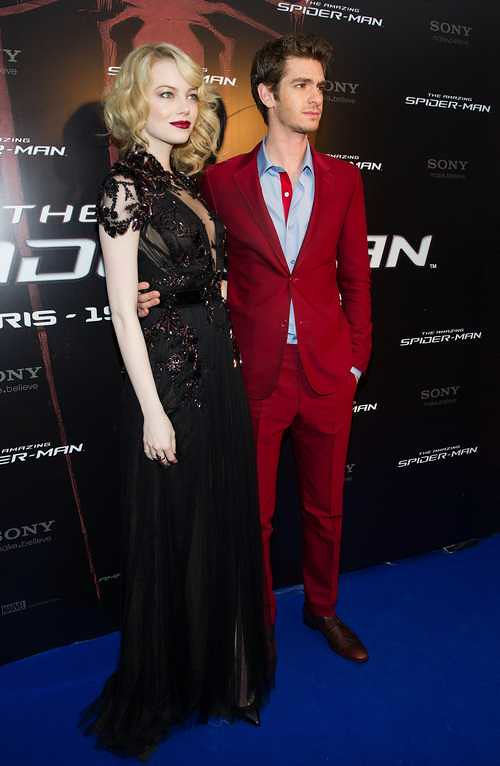 "PARIS: "" The Amazing Spider-Man "" Premiere."
