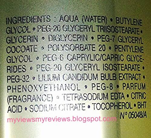 CD Cleansing Oil ingredients