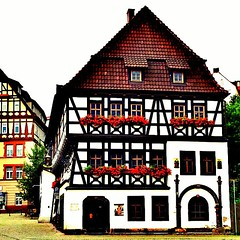 Martin Luther has lived in this #house in #Eisenach.