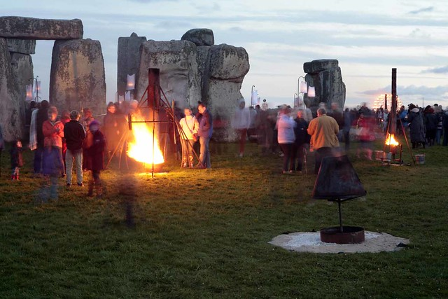 Fire at the stones.