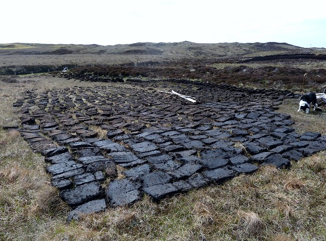 Stage 1 Drying of Peat, Outer Hebrides