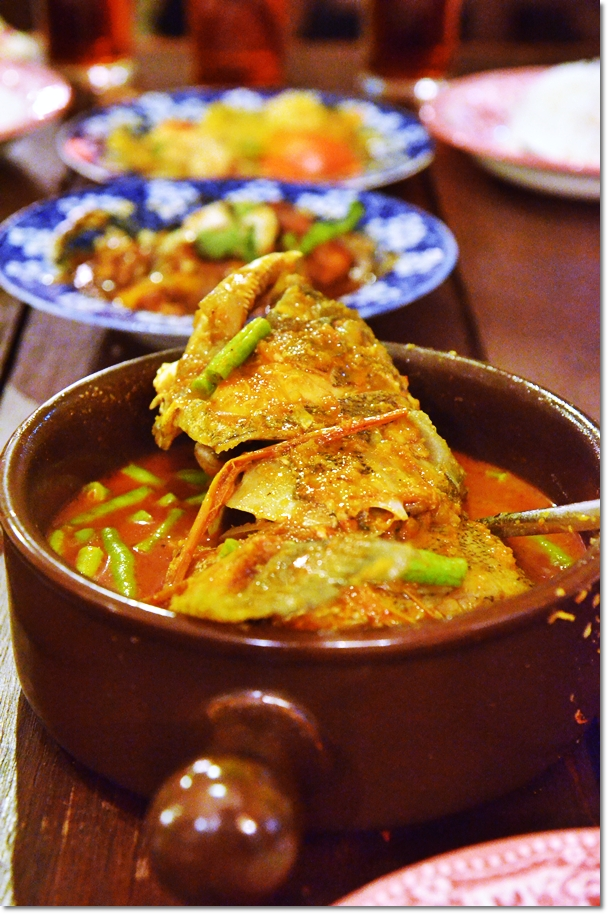Nyonya Curry Fish Head