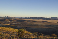 Davis Mountains Overlook at Sunset 4