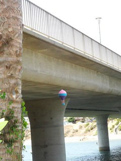Air Balloon Yarn Bomb San Diego