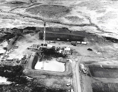 Drill Rig at Amchitka Test Area