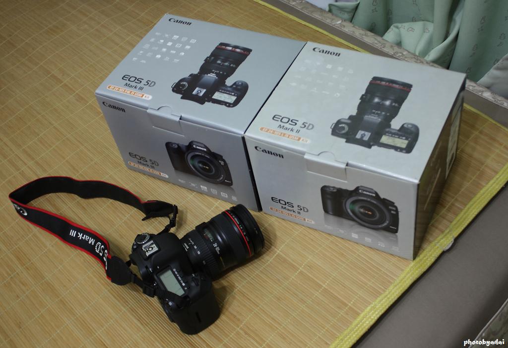 2012.7.23 5D3+24-105 vs 5D2+24-105(相機被偷之後剩下的5D2+24-105空盒)