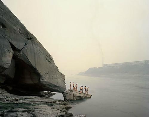 Nadav Kander, Yibin I (Bathers), Sichuan Province