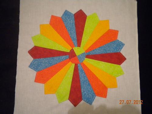 Sew intwined QAL Block 1