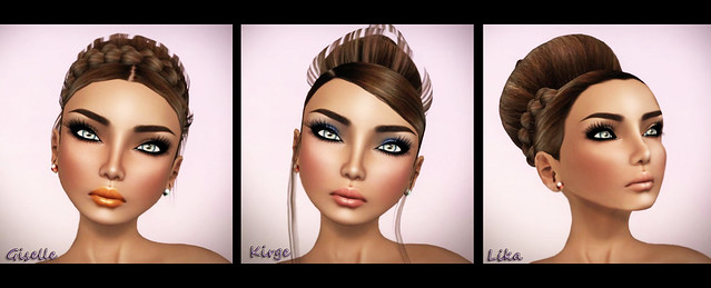 Hair Fair 2012 - Miamai_Giselle Updo, Kirge Updo & Lika Updo_Brown & Glam Affair - Cassiopea - India