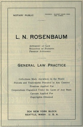 Rosenbaum, Patents and Trademarks Procured
