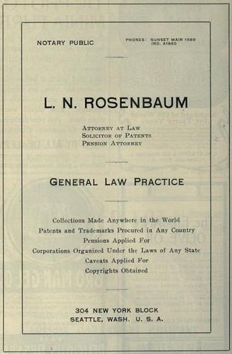 Rosenbaum, Patents and Trademarks Procured