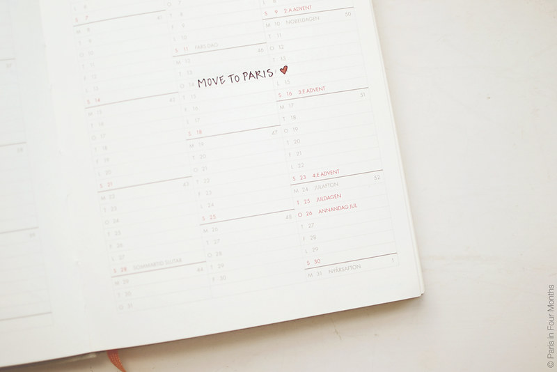 Calendar by Carin Olsson (Paris in Four Months)