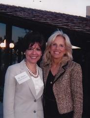 Drs. Maria Harper-Marinick and Jill Biden