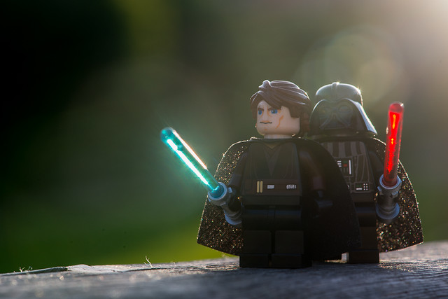 Anakin and Darth Vader (Prequels are Cool: How Do the Old and New Testament Relate? Here Are Five Reasons To Read The Old Testament.)