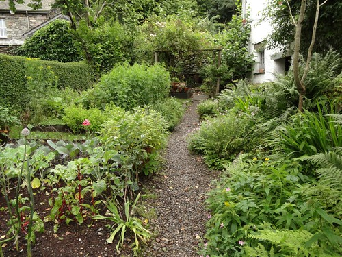 The garden at Dove Cottage