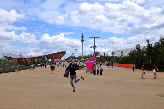 Liz and the Olympic Velodrome