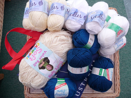 bethelofbethania very kindly sent me some yarn for SIBOL. Thank you!