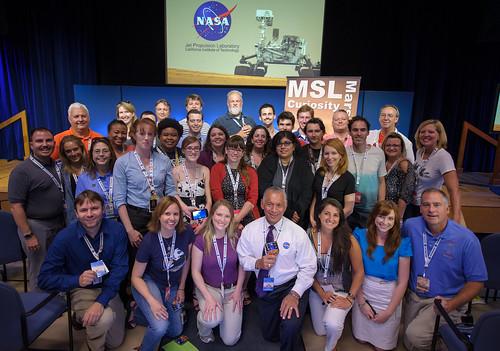 Mars Science Laboratory (MSL) Social (201208050002HQ)